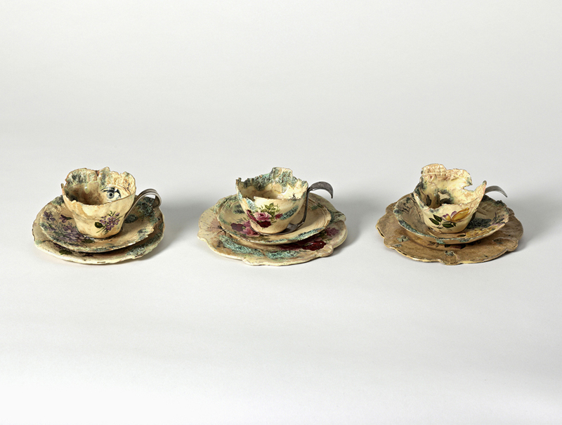 Three Tea Cups