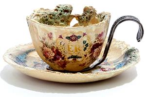 Claire Baker Jubilee Teacups (ER)